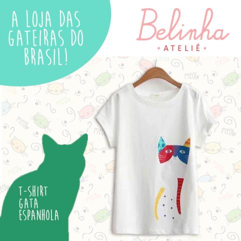 T-Shirt-Gata-Espanhola